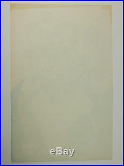 Fugs 1968 Family Dog Avalon Ballroom Concert Psychedelic Poster & Handbill 114-1