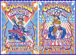 GOV'T MULE Uncut Atlanta & New York Original 1999 Concert Posters Signed