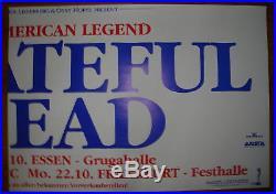 GRATEFUL DEAD- 1990 Germany Concerts 2 SHEET POSTER