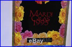 Grateful Dead Mardi Gras Original Limited Edition Concert Poster Troy Alders