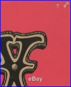 JIMI HENDRIX BG 105-2 FILLMORE concert poster 1968 RICK GRIFFIN BILL GRAHAM