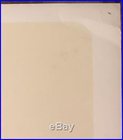 JOAN BAEZ BOB DYLAN 1964 Original SUPER RARE Silkscreen Concert Poster
