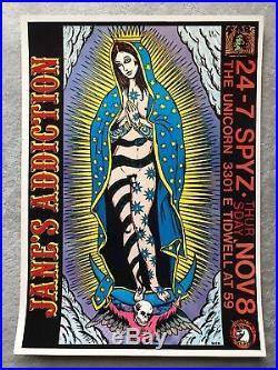 Janes Addiction Original Concert Poster Lithograph Frank Kozik Near Mint