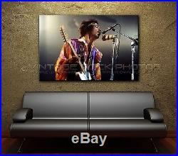Jimi Hendrix 40x60 inch Poster Size Photo'60s Live Concert Studio Pro Print 11