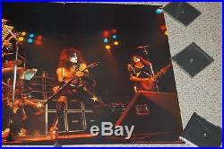 KISS 1975 Deuce Alive Tour In Concert Poster 1978 Wizard Genius Aucoin Gene Ace