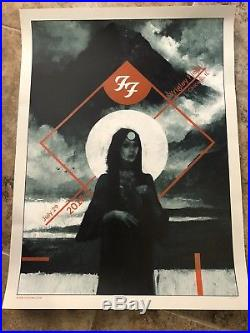Karl Fitzgerald Foo Fighters Chicago Wrigley 2018 Concert Poster # 70/300