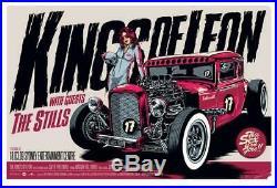 Kings Of Leon Melbourne 2009 Original Concert Poster Ken Taylor