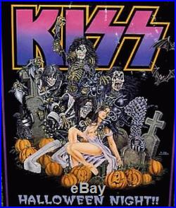 Kiss Los Angeles Halloween 1998 Concert Poster Original Rare