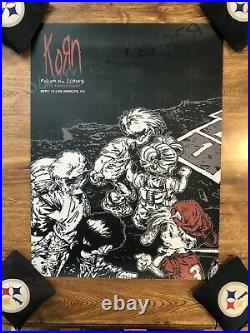 Korn Concert Poster 20th Anniversary Follow the Leader