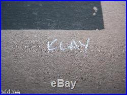 LADYTRON- ORIGINAL SIGNED/NUMBERED 2006 CONCERT POSTER by Mike Klay