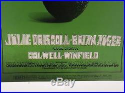 Led Zeppelin Concert Bill Graham Presents Fillmore Winterland April 1969