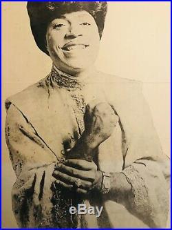Little Richard Boston Tea Party May 1970 ORIGINAL Concert Poster Rare Fillmore