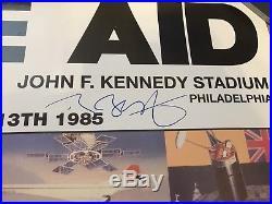 Live Aid Multi SIGNED Original Concert Poster 36 X 24 Inches UACC