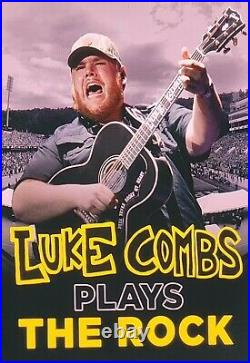 Luke Combs Concert Poster APP STATE 2021 Signed & Numbered IN HAND SOLD OUT