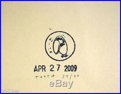 MASTODON KYLESA INTRONAUT ORIGINAL S/N 2009 CONCERT POSTER by Tooth