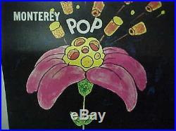MONTEREY POP, orig 1-sh D A Pennebacker concert film