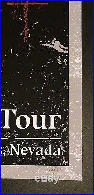 Marilyn Manson Las Vegas Concert Poster 1/13/2018 Heaven Upside Down Tour RARE