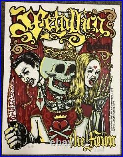 Metallica Concert Poster 2004