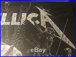 Metallica Concert Poster Berlin, Germany SE /350 Janta Island 7/6/2019 Limited