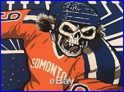 Metallica Edmonton/Commonwealth Stadium Concert Poster #385/400 8/16/17