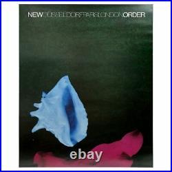 New Order 1987 Dusseldorf/Paris/London Concert Poster (UK)