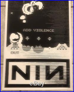 Nine Inch Nails Concert Poster 6/15 & 6/16/18 @ The JointLas Vegas