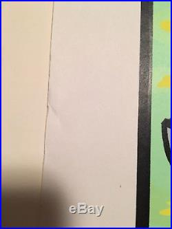 Nirvana Breeders RARE 1993 signed concert poster Frank Kozik #126/800 Cobain