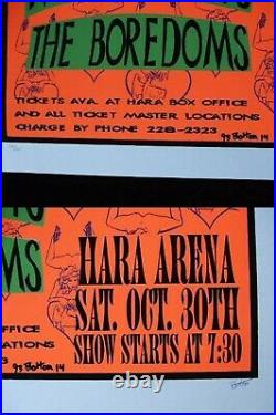Nirvana Meat Puppets True Concert Poster Hara Arena Lee Bolton First Edition JPN