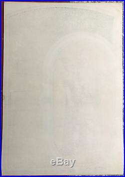 Original 1967 Big Brother Janis Joplin Stockton Ca Concert Poster Signed Mouse