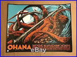 Ohana Festival CA 2019 Ken Taylor Art Official Concert Poster AP Eddie Vedder