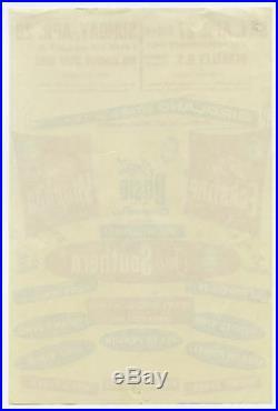 Original 1957 COUNT BASIE Sarah Vaughan LESTER YOUNG more Concert Handbill Flyer