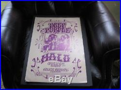 Original 1972 Deep Purple concert poster Salem, OR, Armory