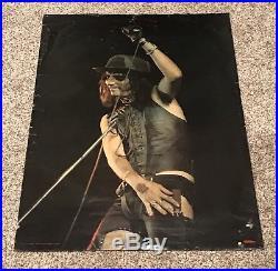 Original 1973 Alice Cooper Vintage Stage Concert Poster Scandecor Nice