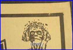 Original 1988 Pantera Concert Poster Arcadia Theater Dallas TX Power Metal Tour