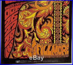 255fa48a Original BG90 PINK FLOYD Fillmore Auditorium concert poster 1967 NICE