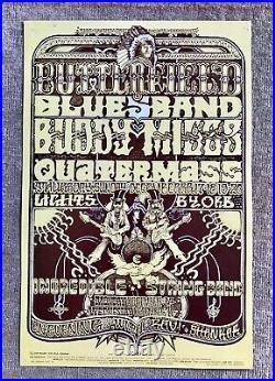 Original Butterfield Blues Band BG 261 Fillmore 1970 concert poster