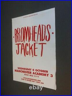 Original Concert Posters From Manchester 2000-2013