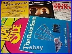 Original Concert Posters, Manchester University 2000-2013