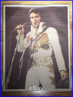 Original ELVIS PRESLEY in Concert Poster
