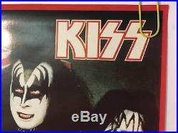 Original Vintage Poster KISS US Tour Aucoin Promotion 1976 American Concert 70s