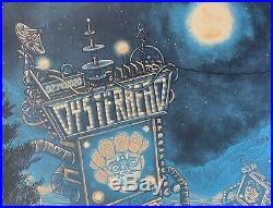 Oysterhead Poster denver gold variant concert 2/14 2020 tour phish primus