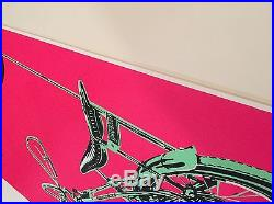 PEARL JAM 2003 MONTREAL Concert POSTER Ames Bros pink bicycle Canada buzzcocks