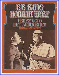 PINK FLOYD B B King HOWLIN' WOLF P FUNKADELIC Original 1971 Concert Handbill