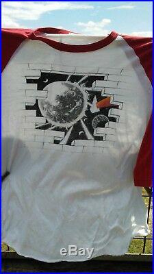 PINK FLOYD the Wall T shirt original 1980 nassau ny concert VINTAGE RARE