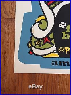 Pearl Jam 1996 Amsterdam Original Concert Poster AMES