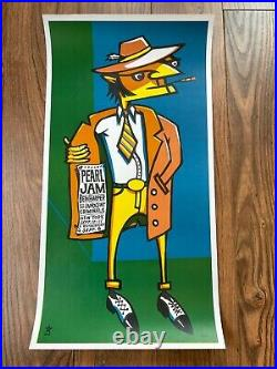 Pearl Jam 1998 NJ/NY/MSG 9/8, 9/10-11 Poster Ames (Orig. /Unsigned)