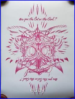 Pearl Jam Concert Poster 2014 Jeff Soto Sydney