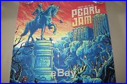 Pearl Jam Concert Poster Dan Mumford Boston MA Fenway Park 09/02 + 09/04/2018