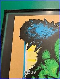 Pearl Jam Concert Poster Fenway 2016 AMES Green Monster Variant Artist Ed S/N