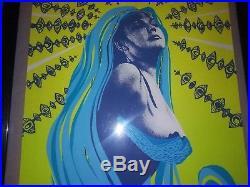 Pearl Jam / Eddie Vedder Concert Poster Washington DC 1996 Silkscreen